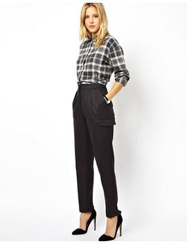 Asos Trousers In Pinstripe by Asos Collection