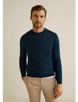 100 Percents Wool Sweater by Mango