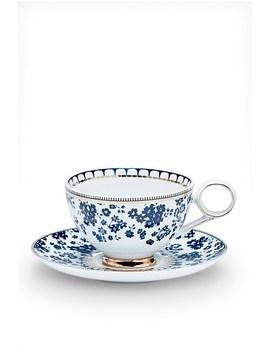 Palais Tea Cup & Saucer Flora 230ml by Salt & Pepper