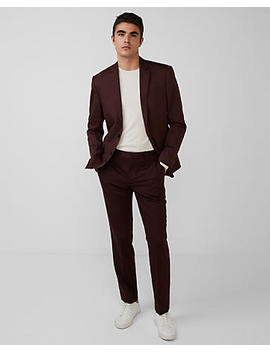 Classic Cotton Sateen Suit Jacket by Express