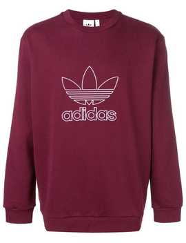 Classic Logo Sweater by Adidas