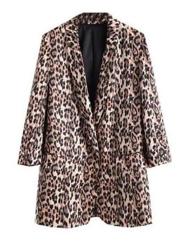 'doanne' Leopard Print Blazer by Goodnight Macaroon