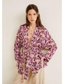Blommig Kimono by Mango