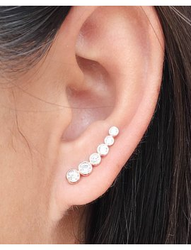 Bubbly Ear Climbers | Ear Crawlers | Ear Climber Earrings | Ear Crawler Earrings | Ear Pins by Etsy