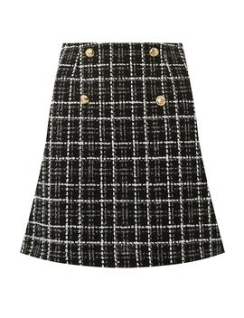 Mono Boucle Mini Skirt by Dorothy Perkins