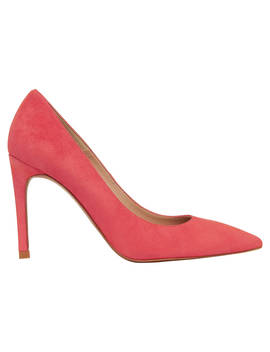 Whistles Cornel Stiletto Heeled Court Shoes, Pink Suede by Whistles