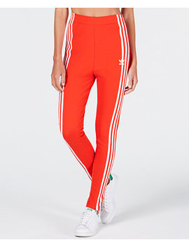 High Rise Track Pants by Adidas Originals
