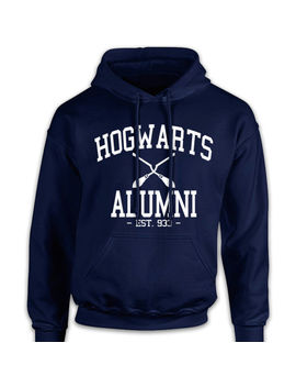 Hogwarts Alumni Hoodie Harry Potter School Of Wizardry Birthday Gift England by Ebay Seller