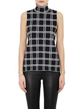Checked Compact Knit Shell by Proenza Schouler