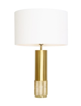 Jenson Metal Table Lamp (H51cm X W32cm) by Matalan