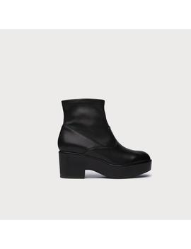 Kimberly Black Leather Ankle Boots by L.K.Bennett