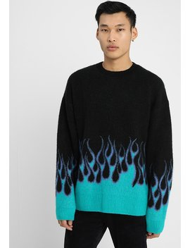 Flame Jaquard   Sweatshirt by Weekday