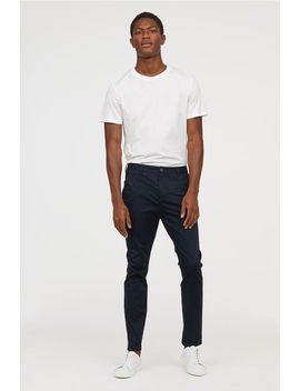 Cotton Chinos   Slim Fit by H&M
