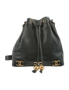 Chanel Vintage Cc Bucket Bag by Chanel