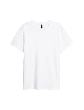 T Shirt With Round Neck by H&M