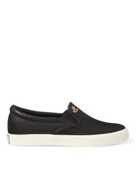 Leather Slip On Sneaker by Ralph Lauren