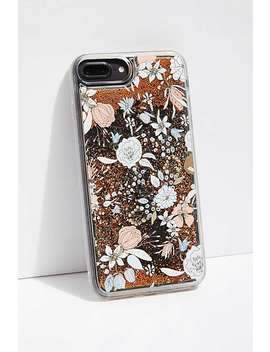 Floral Glitter Bomb Phone Case by Free People