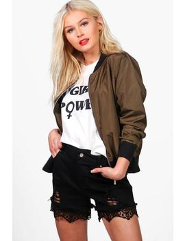 Lightweight Ma1 Bomber by Boohoo