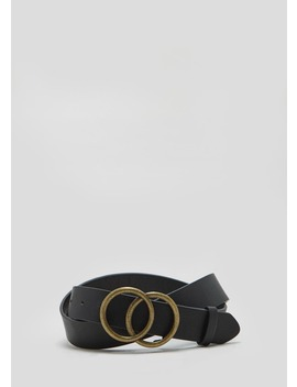 Circle Buckle Belt by Matalan