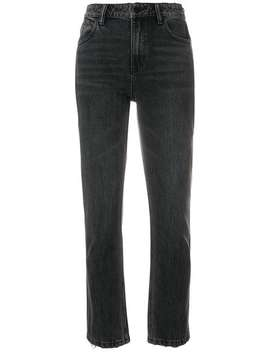 Regular Cropped Jeans by T By Alexander Wang