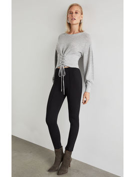Seamed Ponte Legging by Bcbgmaxazria