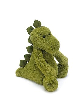 Jellycat Bashful Dinosaur Stuffed Animal, Small, 7 Inches by Jellycat