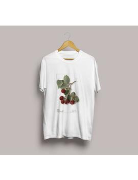 raspberry-illustration-unisex-t-shirt---botanical-illustration,-raspberry-t-shirt,-fruit-t-shirt,-berry-illustration,-botanical-art-s-m-l-xl by etsy