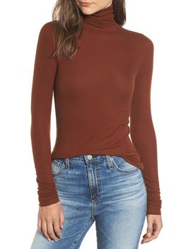 Chels Ribbed Turtleneck Sweater by Ag