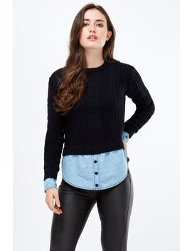 Chambray 2 In 1 Jumper by Select