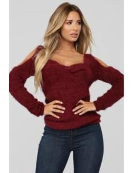 second-to-none-sweater---burgundy by fashion-nova