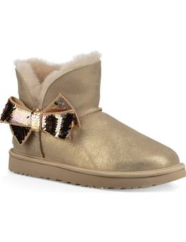 Mini Sequin Bow Bootie by Ugg®