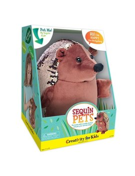 Sequin Pets: Happy The Hedgehog   Craft Kit By Creativity For Kids by Creativity For Kids