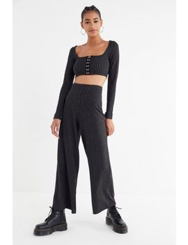 Uo Micha Mensy Pinstripe Pant by Urban Outfitters