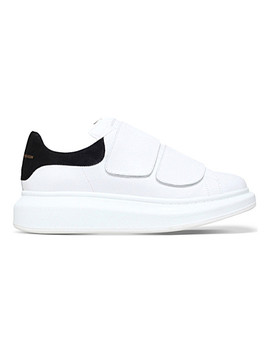 Runway Leather Platform Trainers by Alexander Mcqueen