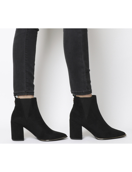 Amazing Block Heel Point Ankle Boots by Office
