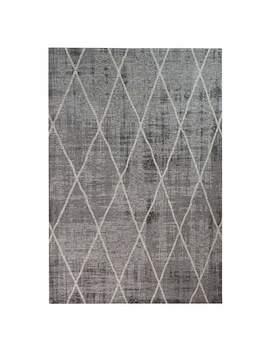 5 A Fifth Avenue Grey Sheer Diamond Rug by Dunelm