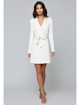 Crepe Suit Dress by Bebe