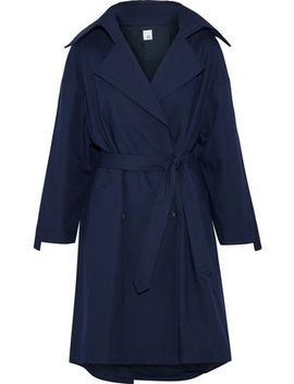 Morgan Cotton Canvas Trench Coat by Iris & Ink