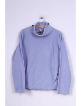 Nike Womens L 14/16 Fleece Top Sweatshirt Violet Funel Neck Sportswear by Ebay Seller