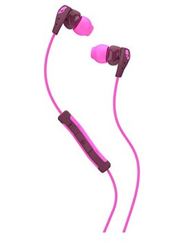 Skullcandy Method In Ear Sweat Resistant Sports Earbud, Plum/Pink by Skullcandy
