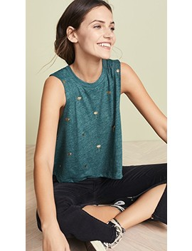 Mini Lotus Crop Tank by Spiritual Gangster