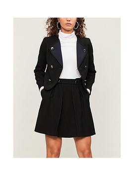 Sonny A Line Crepe Skirt by Claudie Pierlot