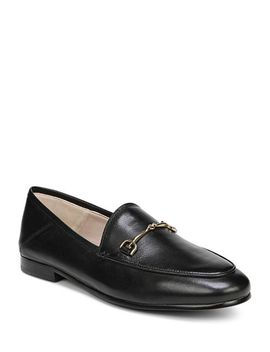 Women's Loraine Round Toe Leather Loafers by Sam Edelman