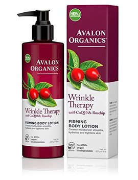 Avalon Organics Wrinkle Therapy Ultimate Firming Body Lotion, 8 Ounce Bottle by Avalon