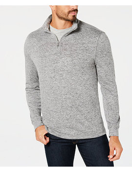 Men's Quarter Zip Sweater, Created For Macy's by Club Room