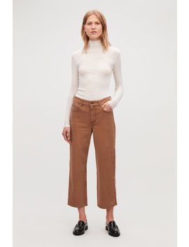 27 Inch Wide Crop Jeans by Cos