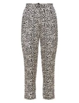Leopard Printed Cigarette Trouser by Prettylittlething
