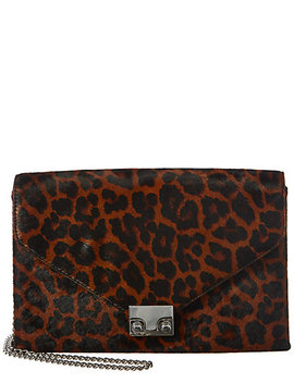 Loeffler Randall Lock Haircalf Clutch by Loeffler Randall