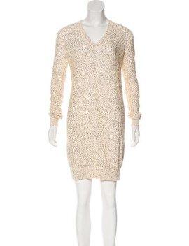 Stella Mc Cartney Embellished Sweater Dress W/ Tags by Stella Mc Cartney