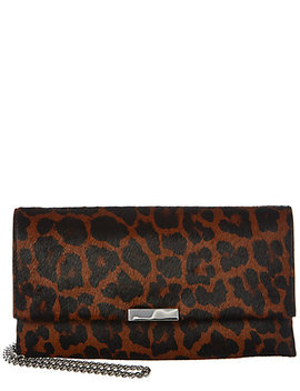 Loeffler Randall Tab Haircalf Clutch by Loeffler Randall